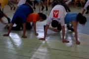 Наша команда на I межмуниципальной спартакиаде Ангарского округа