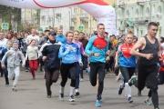 В массовом забеге по центральным улицам Ангарска приняли участие 1944 человека