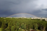 Лето в Ангарске началось с дождей